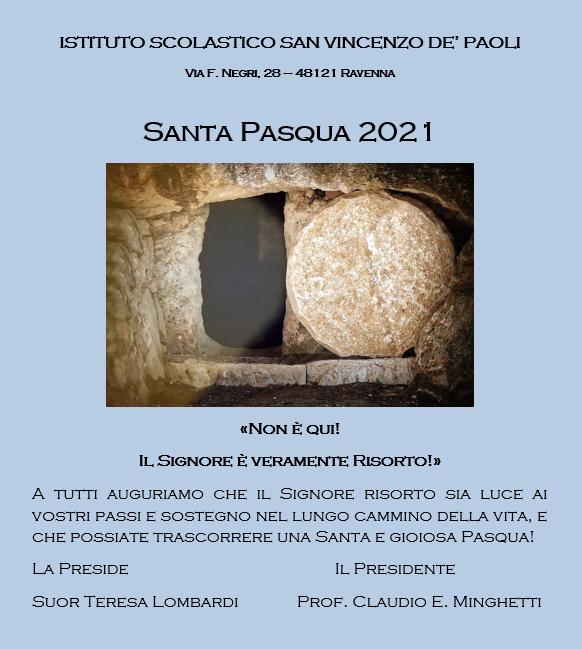 SANTA PASQUA 2021