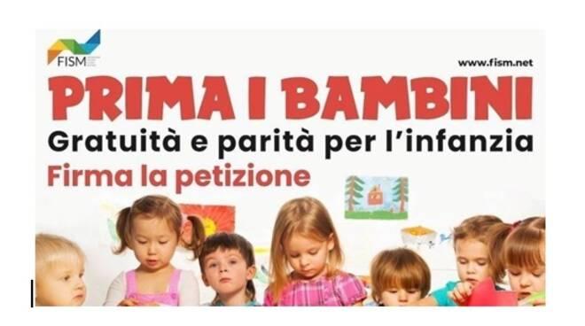PRIMA I BAMBINI: GRATUITA' E PARITA' PER L'INFANZIA